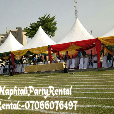 , 20 x60 Array Tent, Your Event and Party Rentals in Nigeria. tents, tables, chairs, Canopies