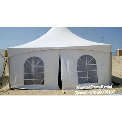 , 20×20 Tent with side cover, Your Event and Party Rentals in Nigeria. tents, tables, chairs, Canopies