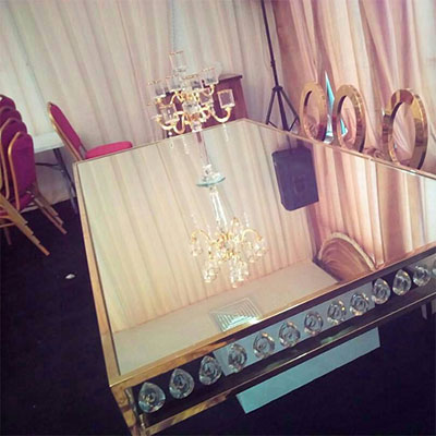 , Glass VIP rectangular table, Your Event and Party Rentals in Nigeria. tents, tables, chairs, Canopies