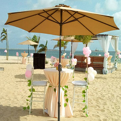 , Brown Parasol, Your Event and Party Rentals in Nigeria. tents, tables, chairs, Canopies