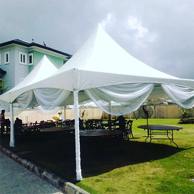 , 20ft x 20ft Array Tent, Your Event and Party Rentals in Nigeria. tents, tables, chairs, Canopies