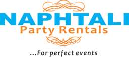naphtali events and party rental party event planning and design services logo
