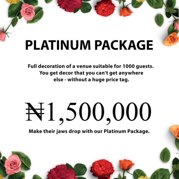 naphtali events and party rental lagos nigeria wedding decoration packages and prices img01