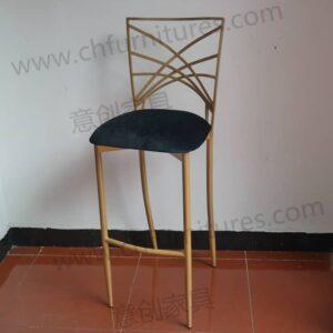 gold cocktail chamelon chair